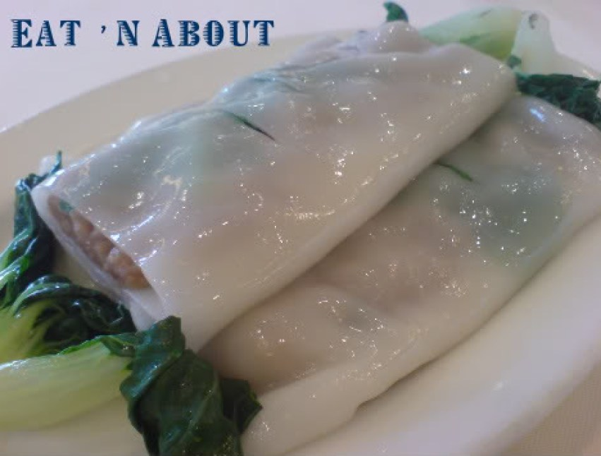 Vivacity: Steamed Beef and Pea Shoots Rice Roll