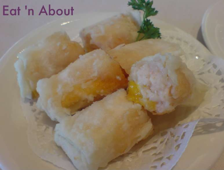 Kirin Restaurant: Deep Fried Shrimp and Fresh Mango Roll