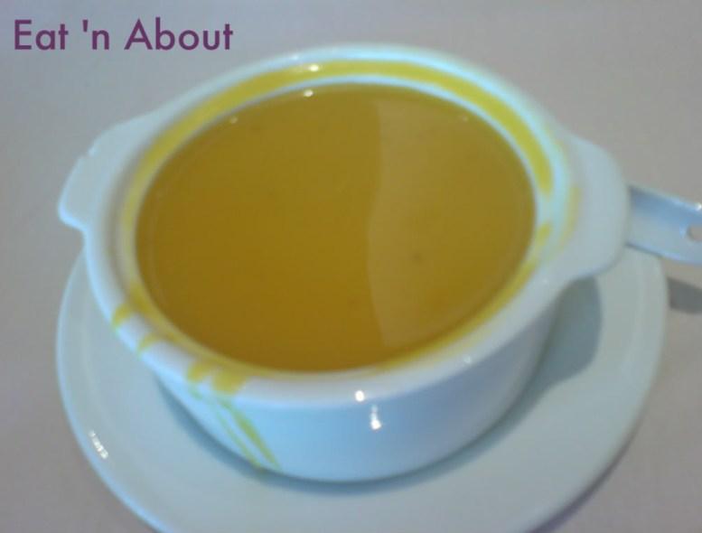Kirin Restaurant: Pumpkin and Purple Rice Puree