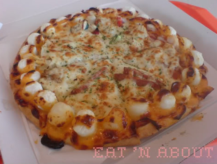 Strawberry Cones: Mochimo Smile pizza