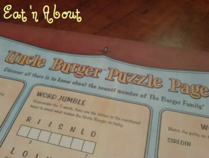 A&W Uncle burger puzzle