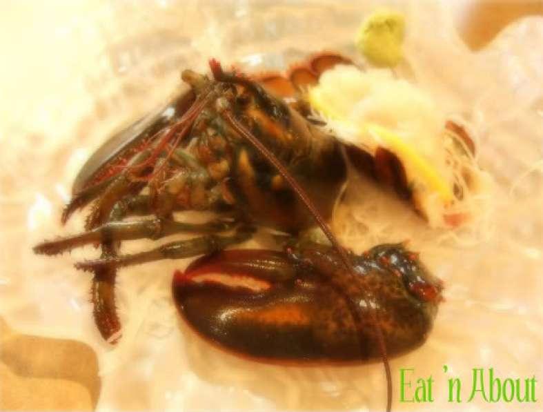 Ichiro Japanese Restaurant: Lobster Sashimi