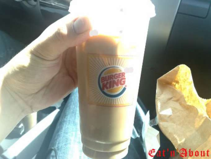 Burger King Mocha Joe