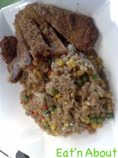 Chiffon Chinese Cuisine: Taiwanese Style Ribs Fried Rice