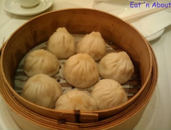 """Shanghai River Restaurant: """"soupy"""" pork dumpling (Shao Long Bao)"""