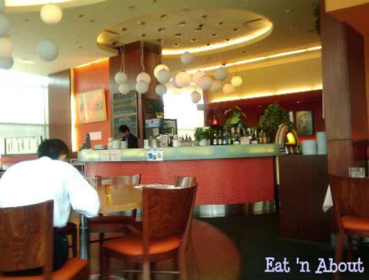 Seventh Heaven Cafe interior
