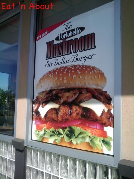 Carl's Jr: The Portobello Mushroom Six Dollar Burger