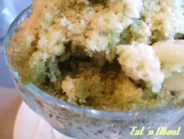 Barefoot Kitchen: Green Tea Shaved Ice