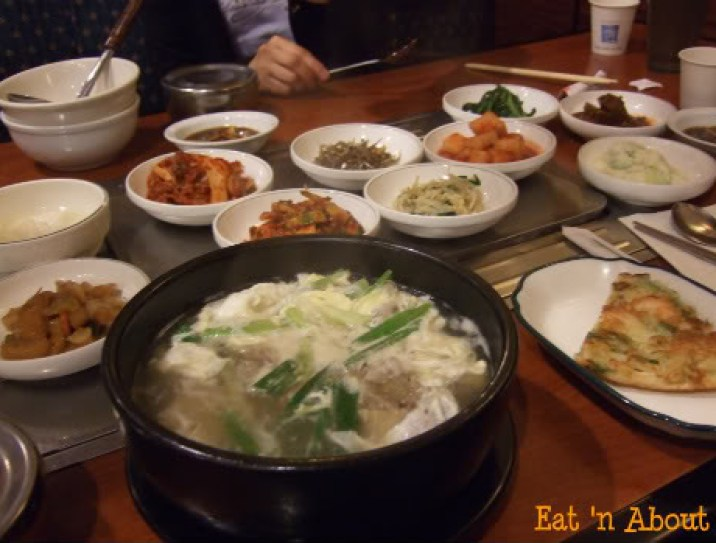Ka Won Korean: Galbitang with banchan