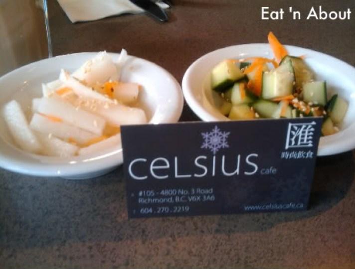 Celsius Cafe: starters