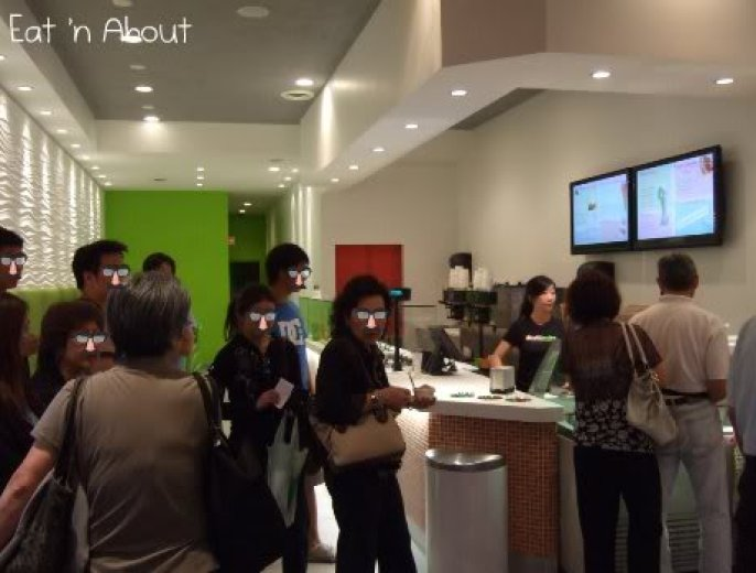Tuttimelon Premium Frozen Yogurt: interior