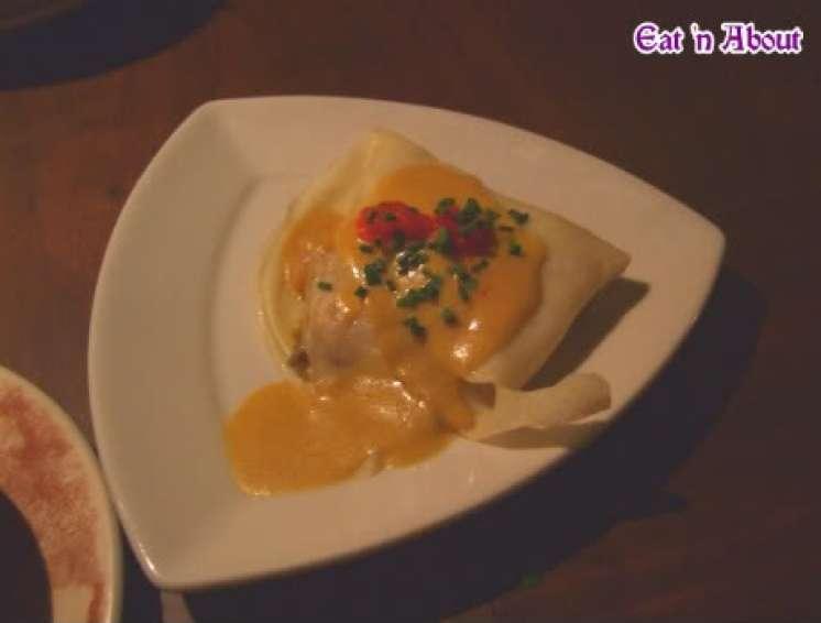 Cafe Sevilla: Seafood Crepe