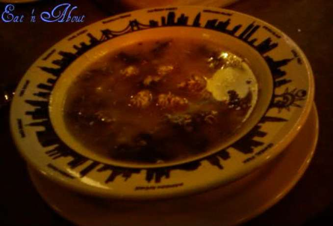 East Side Mario's: Italian Wedding soup