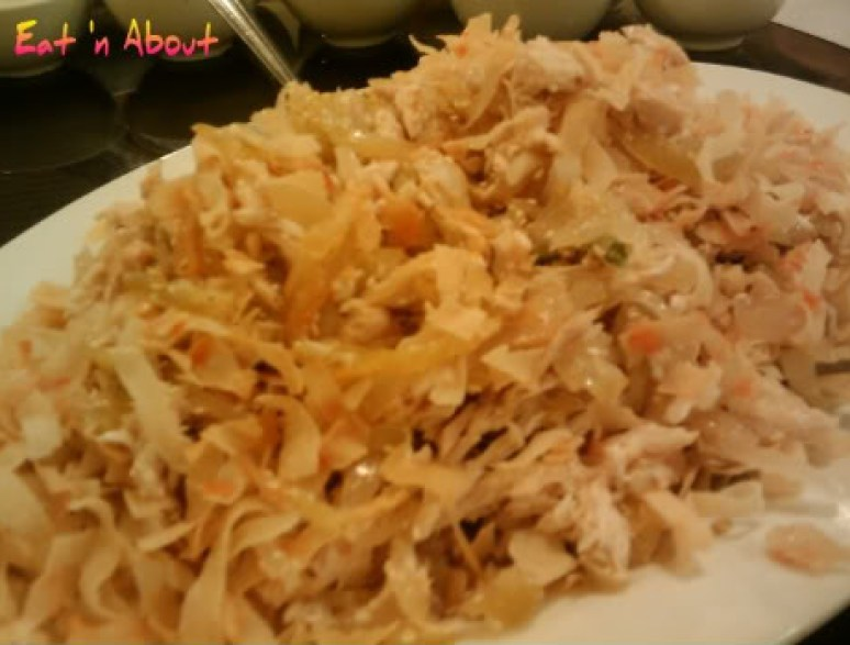 "Koon Bo: Hand-shredded chicken and jellyfish ""salad"""