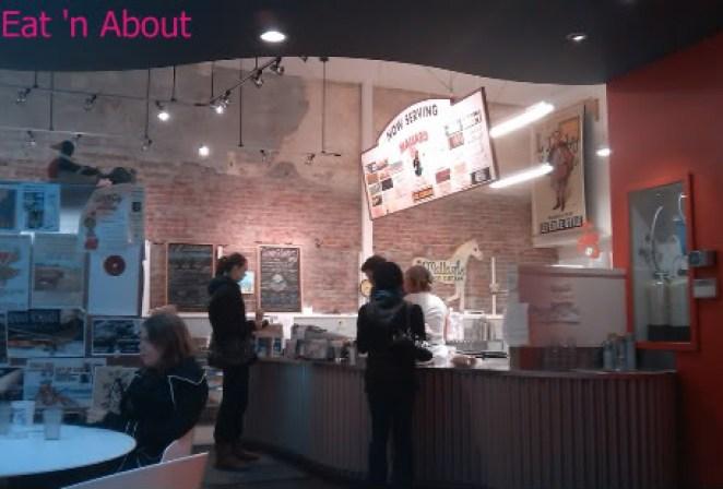 Mallard Ice Cream interior