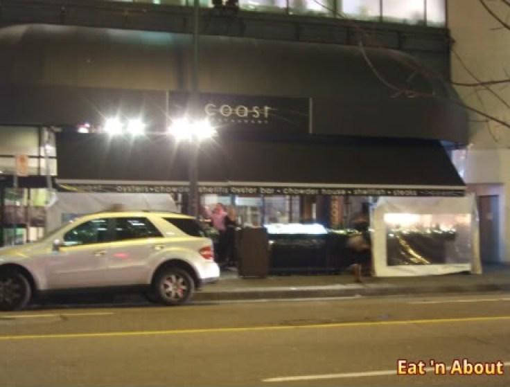Coast Restaurant Vancouver