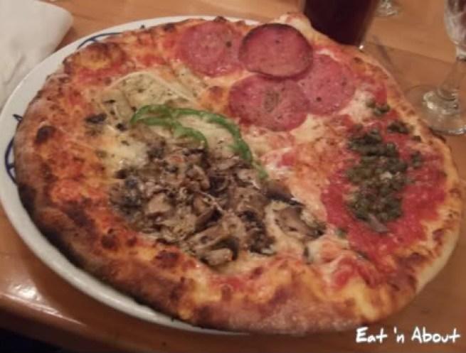 Marcello Pizzeria: Quattro Stagioni pizza
