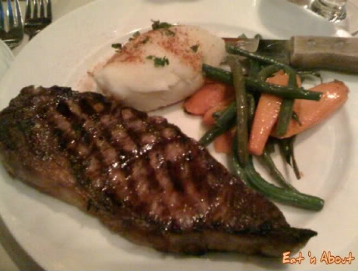 Felicos Greek Restaurant: AAA Alberta Rib Eye Steak
