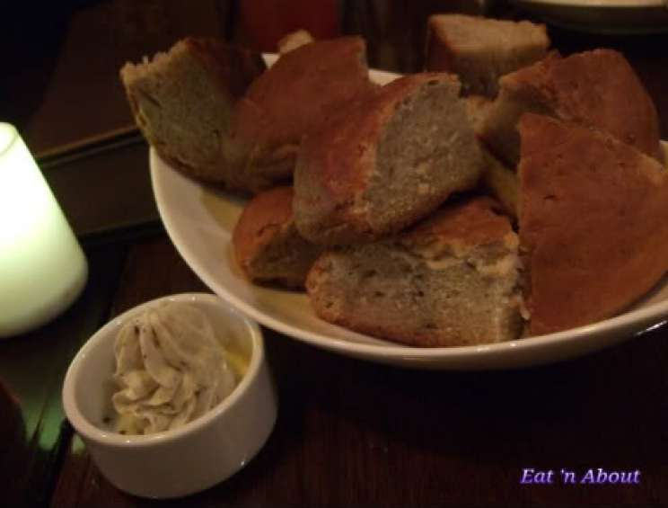 Regional Tasting Lounge: House made Moroccan Spiced Bread