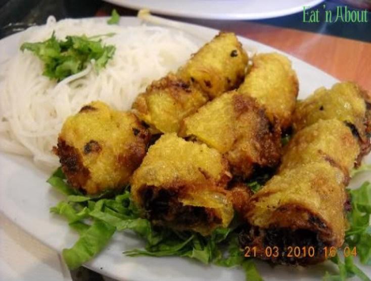 Lam Hoa Quan: spring rolls