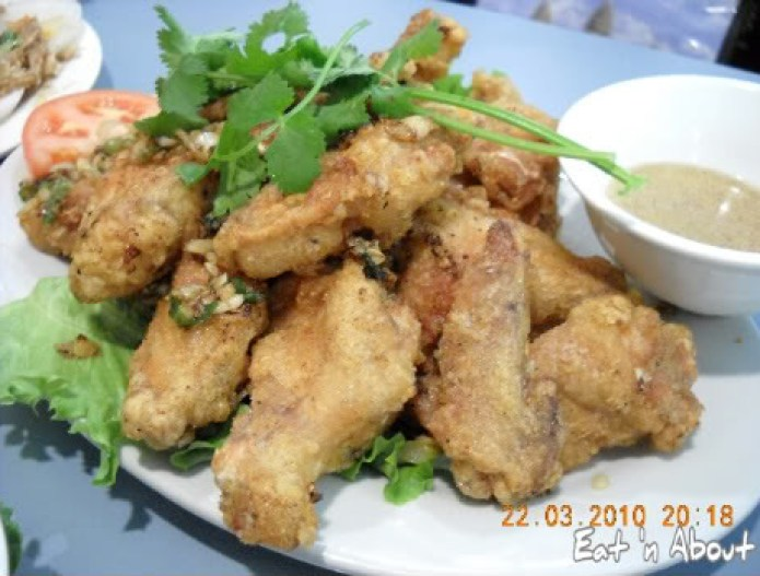 Phnom Penh: Garlic Chicken Wings