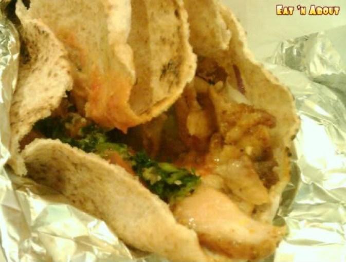 Babylon Cafe: Chicken Sharwarma
