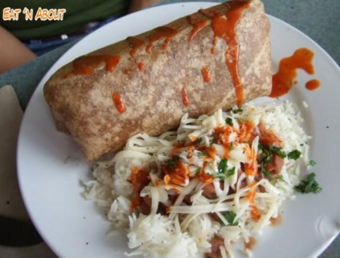 Bandidas Taqueria: Wolf and Goat Burrito