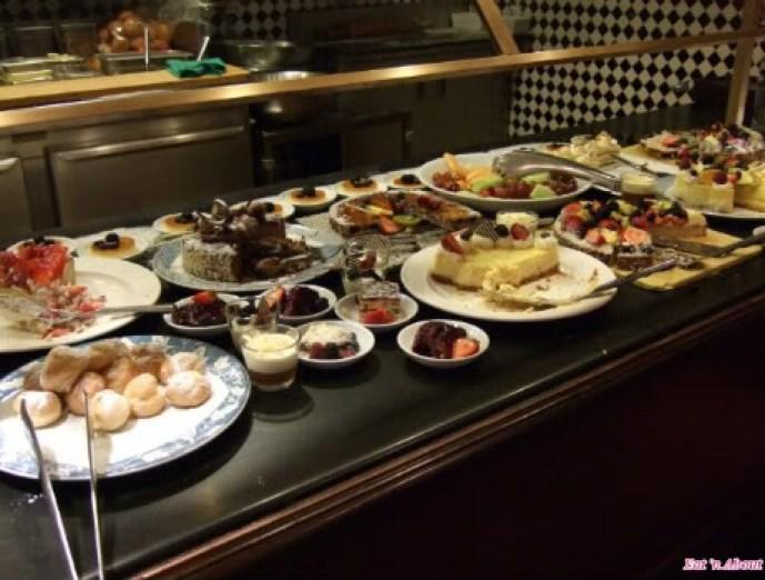 Griffins: dessert buffet