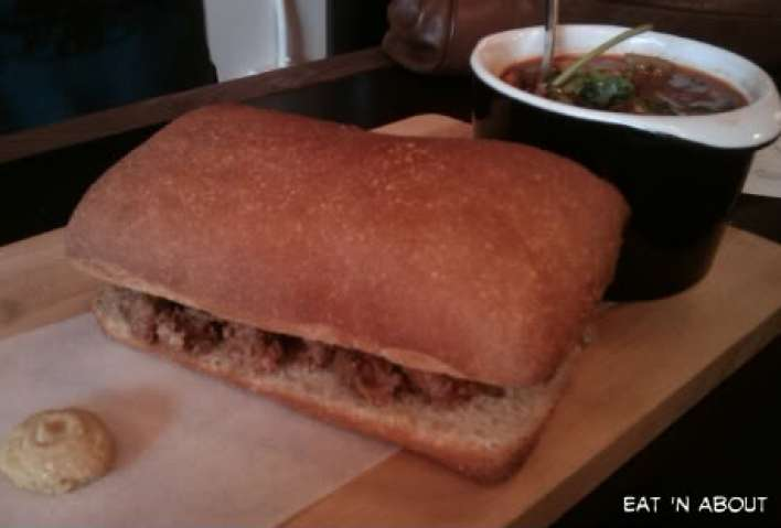 Meat and Bread: Meatball Sandwich and Pork Chilli
