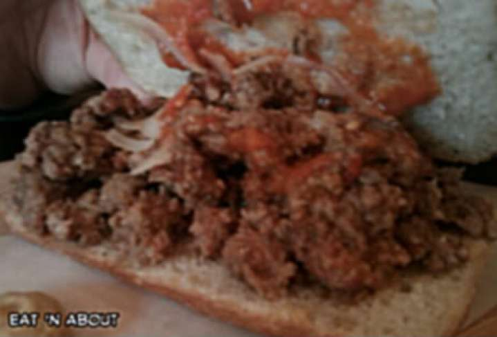 Meat and Bread: Meatball Sandwich