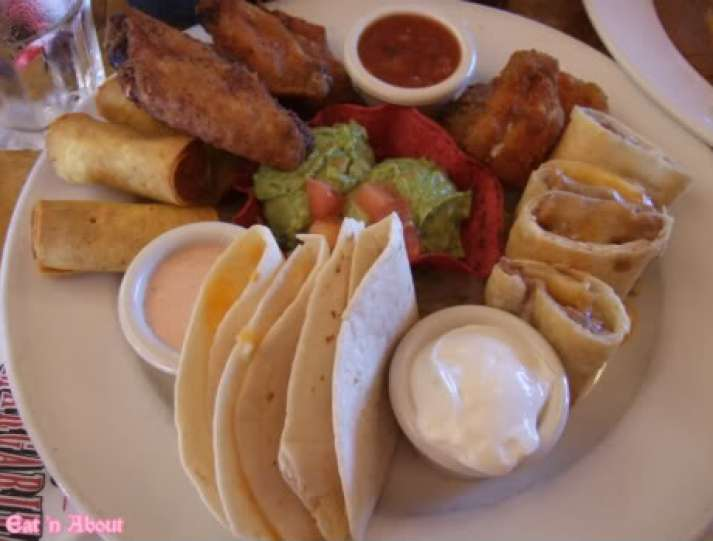 Las Margaritas: Fiesta Platter