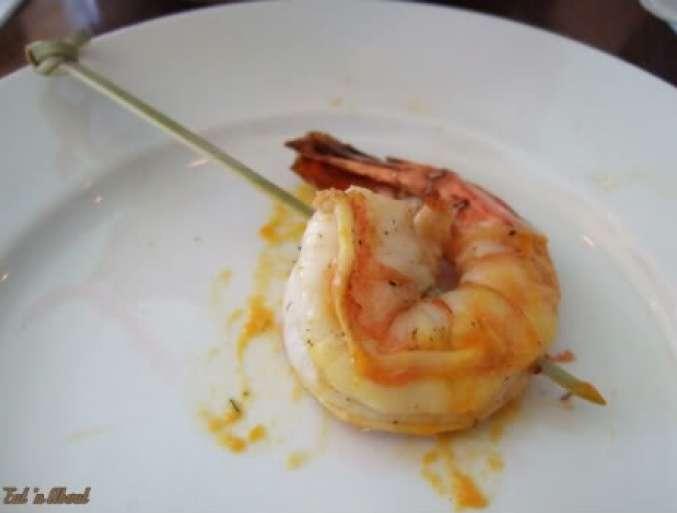Laziza Modern Mediterranean: Saffron Prawns