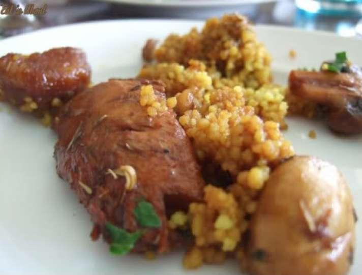 Laziza Modern Mediterranean: Chicken Bedovin