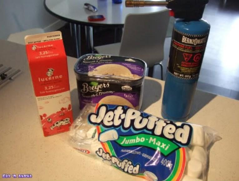 Toasted Marshmallow Milkshake a la Joy the Baker: ingredients