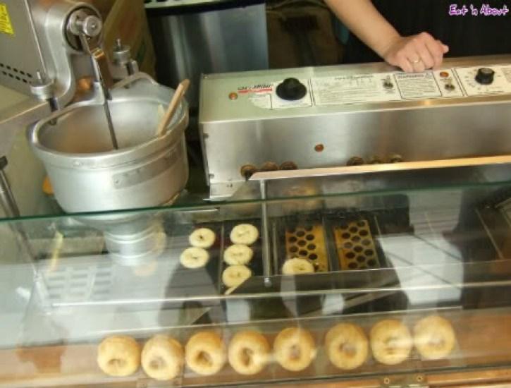 Soy milk mini donuts in Japan