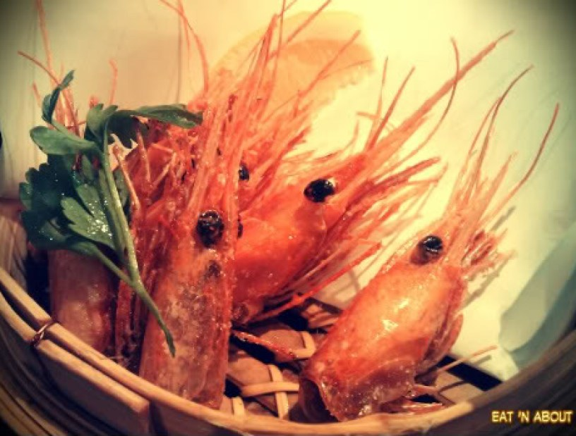 Guu with Garlic: Deep-fried Prawn Heads