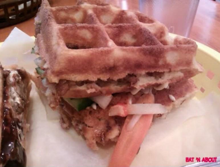 Miura Waffle Milk Bar: Hoisin waffle