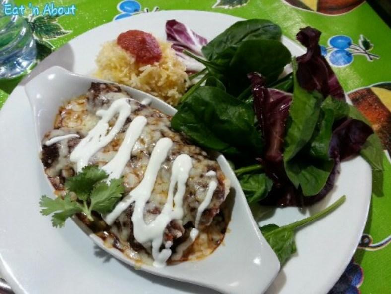 Hernande'z Cocina: Pork Enchilada