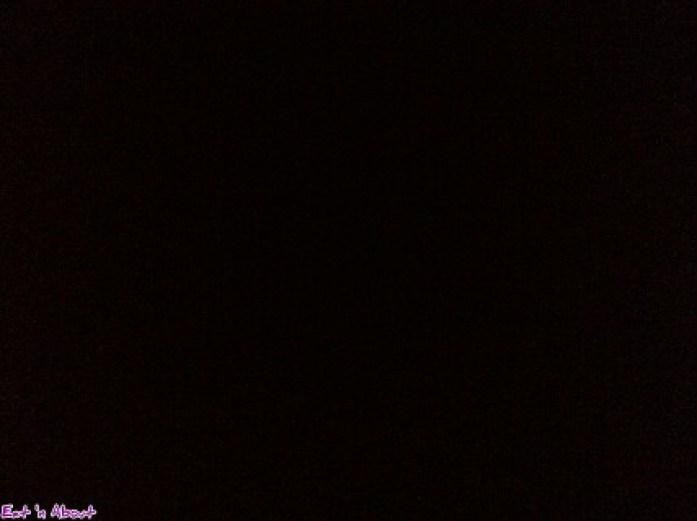 Dark Table: pitch dark interior