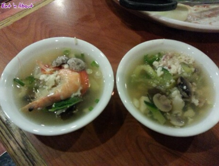 Insadong Coquitlam: Seafood Non-spicy soft tofu soup