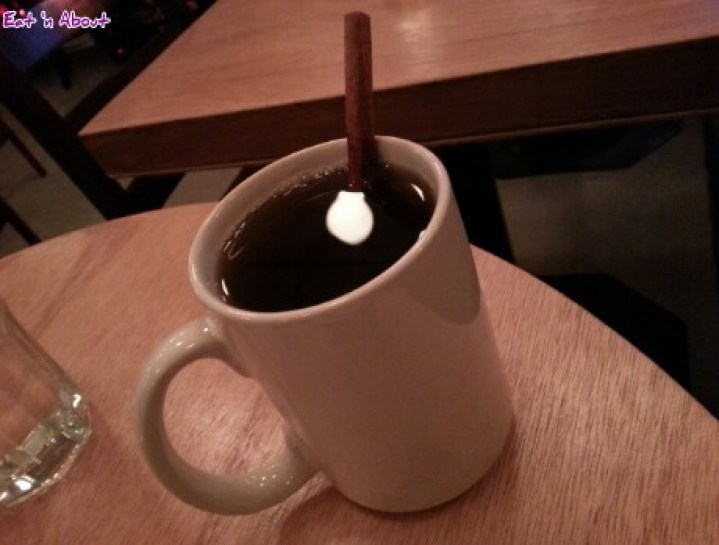 Oyster eXpress Vancouver: Ginger Tea