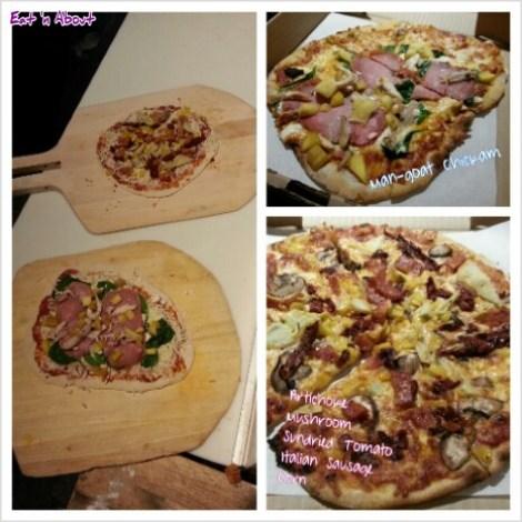 Rocky Mountain Flatbread Company Make-your-own-pizza
