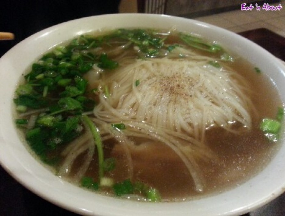 Pho Maxima Restaurant: Tendon and Brisket Pho
