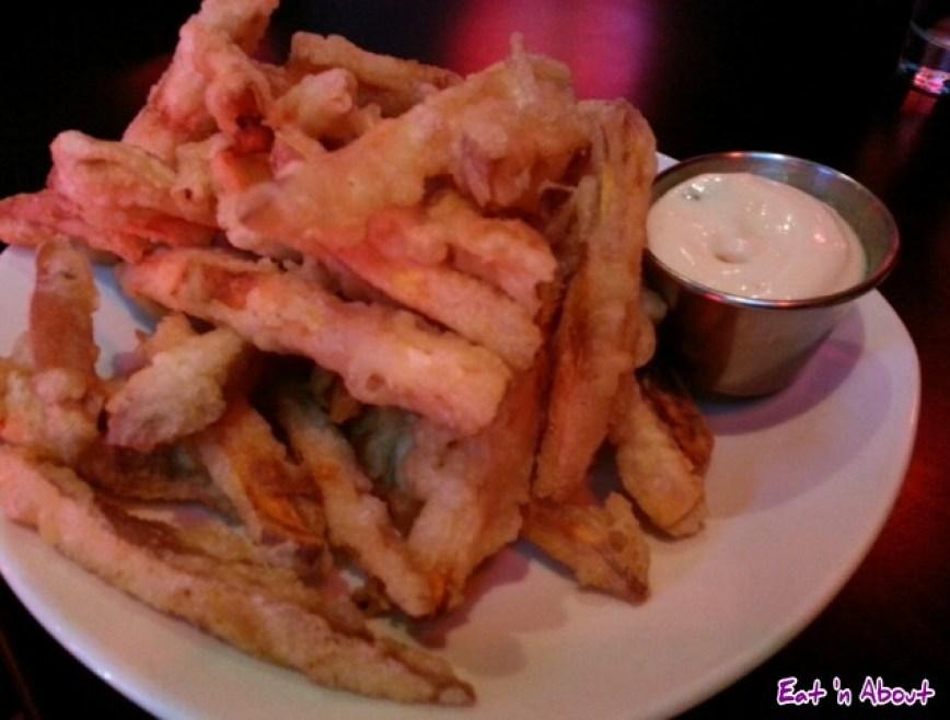 lickerish lounge: Tempura Yam Fries