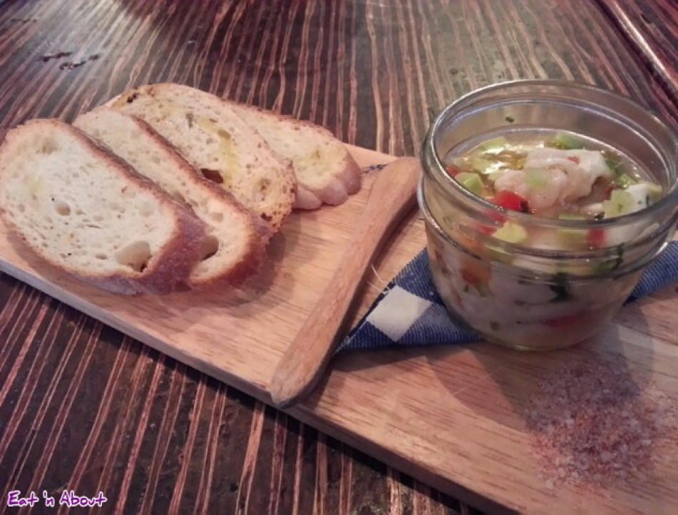 Merchant's Oyster Bar: Prawn & Cod Ceviche