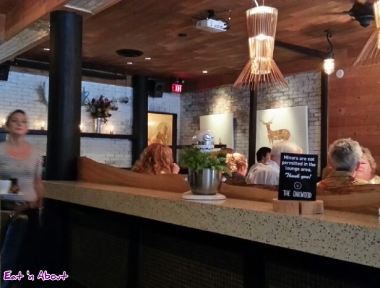 The Oakwood Canadian Bistro Interior