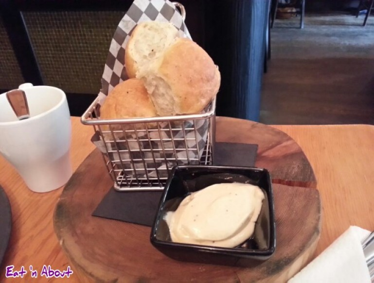 The Oakwood Canadian Bistro: Brioche Muffins with Maple Butter