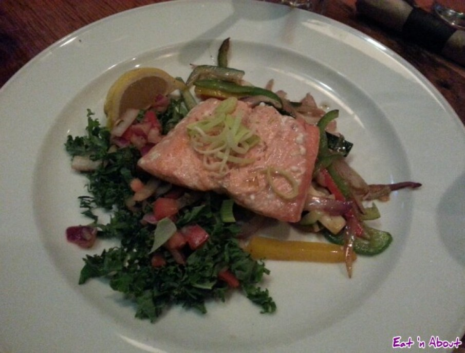 Irish Heather: Napoleon Salmon Escalope