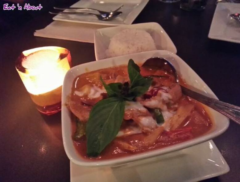 U & I Thai: Red Curry Duck with Lychee