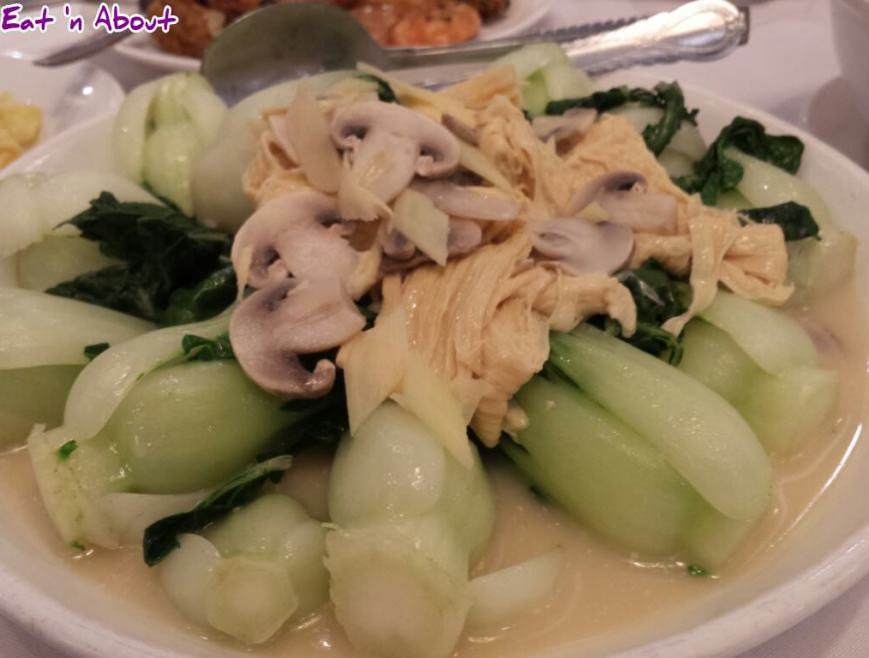 Golden Sea City Restaurant: Bean Curd Sheets with Veggie in Fish Broth
